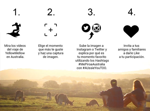 Concurso aussieyoutoo yellowmellow